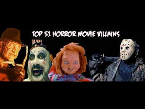 My Top 10 Favorite Horror Movie Villains