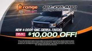 Orange Buick GMC Sierra