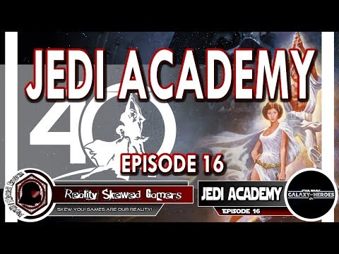 SWGOH Jedi Academy Episode 16 Live Q&A | Star Wars: Galaxy of Heroes #swgoh