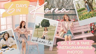 KOREA in 6 DAYS (UNIQUE Itinerary!) - Where to Go, Eat, & Take Instagrammable Photos! | Sophie Ramos