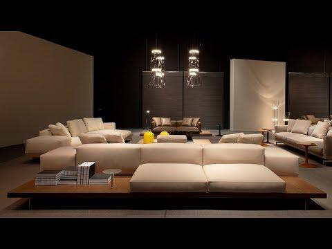 Piero Lissoni designs modular Dock sofa for B&B Italia