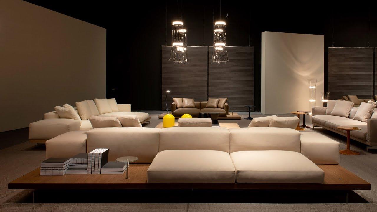 Design Piero Lissoni.Piero Lissoni Designs Modular Dock Sofa For B B Italia
