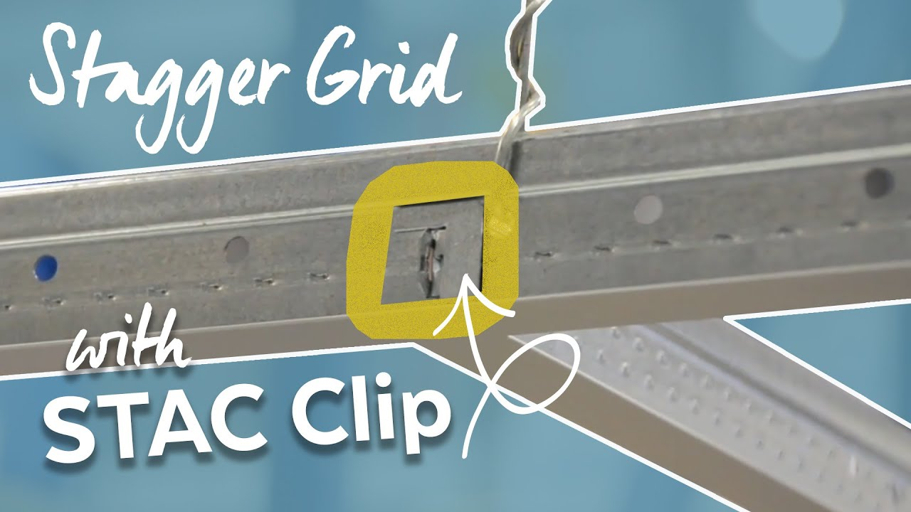 Stac Clip Staggered Grid Layout Youtube