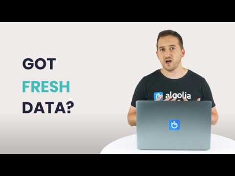 illustration for: 'Algolia Build 101 - Data Sync'""