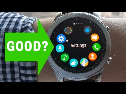 Samsung Gear S3 Classic Smartwatch Review and Demo