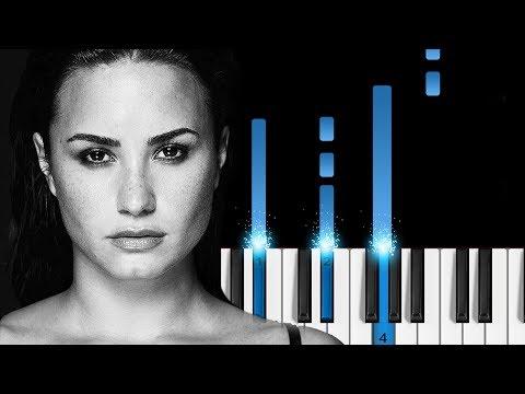 Demi Lovato - Sober - EASY Piano Tutorial