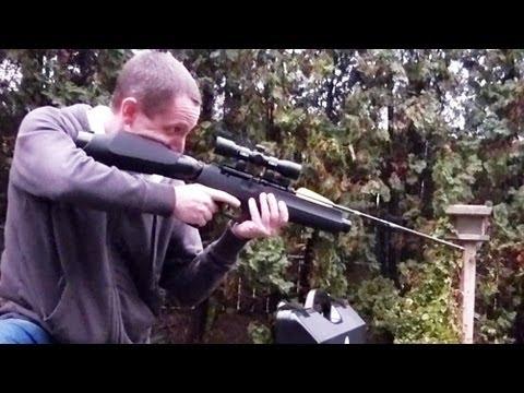Airgun that Shoots Arrows - FX Verminator Extreme MKII
