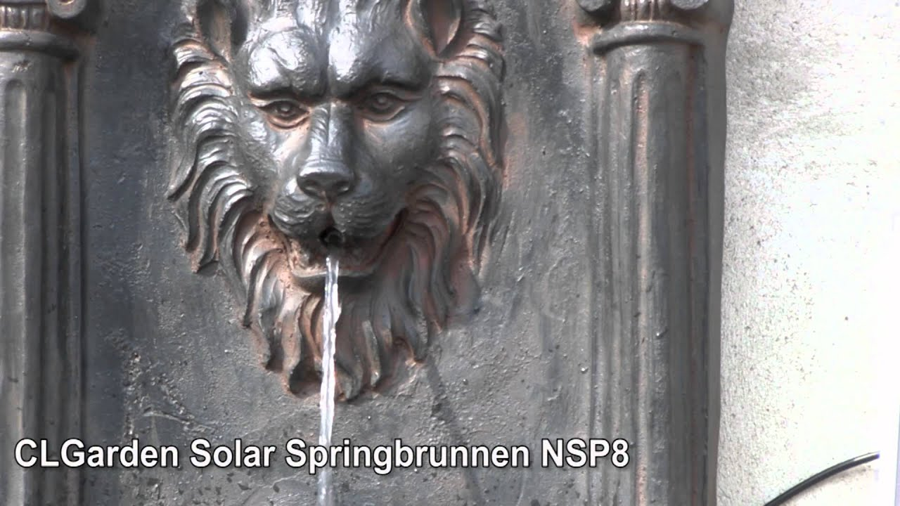 clgarden solar springbrunnen nsp8 - youtube, Garten und Bauen