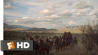 Stagecoach (2/11) Movie CLIP - Manifest Destiny (1986) HD