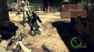 Resident Evil 5 - Mercenaries Reunion - Public Assembly - Solo Excella Gionne - Part 2/2