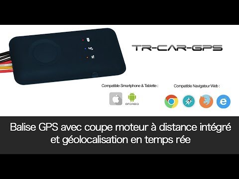 balise gps temps r el sans abonnement avec option relai stop moteur youtube. Black Bedroom Furniture Sets. Home Design Ideas