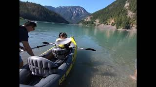 Diablo Lake and North Cascades National Park Camping 2018