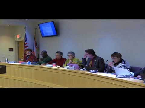 01-02-2018 Yellow Springs Village Council meeting