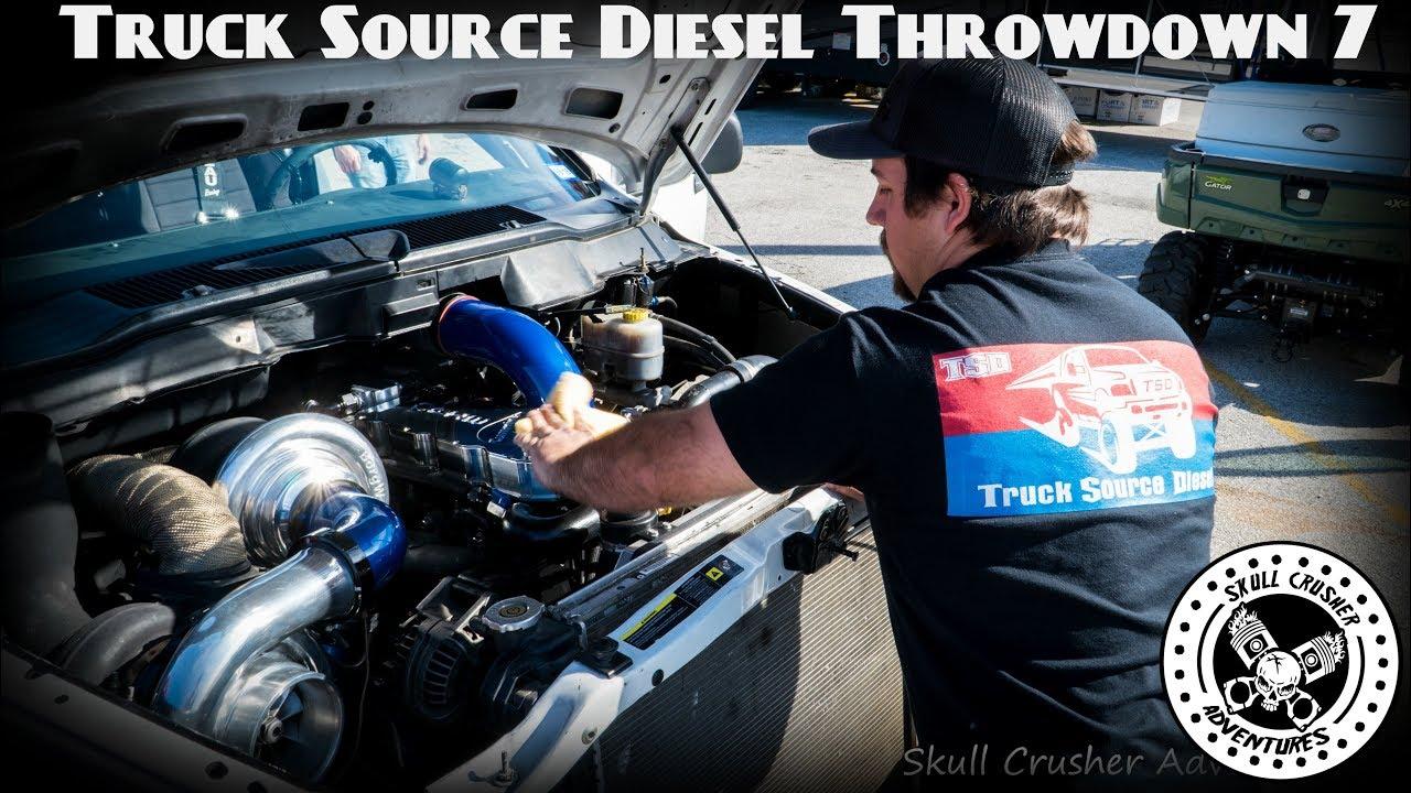 Truck Source Diesel Throwdown 7 @San Antonio Raceway (4k Footage)