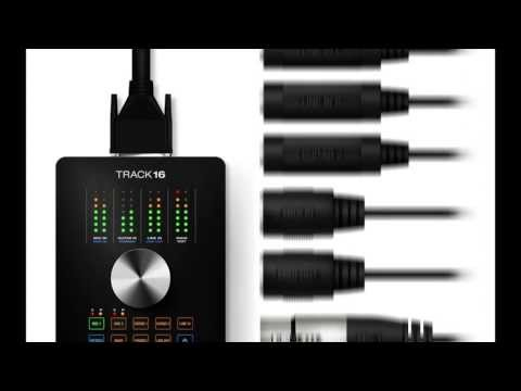 MOTU Track 16 Desktop Audio Interface with Effects and Mixing Overview   Full Compass