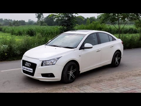 CHEVROLET CRUZE CONVERTED TO AUDI RS4 ? HOW IT HAPPENS ? ALLOYS WHEELS, PAINT JOB, LASER CUTTING