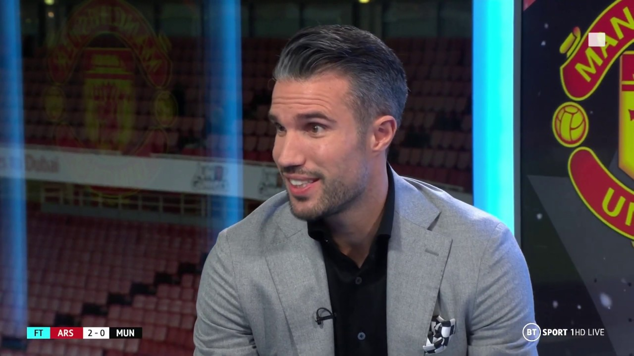 """Now Is Not The Moment To Smile"" Robin Van Persie Doesn T Hold Back On Ole Gunnar Solskjaer"