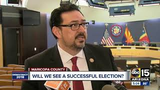 Midterm election planning for Maricopa County