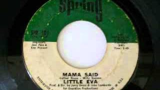 Little Eva - Mama Said (1970)