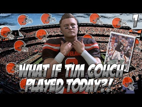 "TIM COUCH CAREER | MADDEN 18 | EP 1 ""WHAT IF TIM COUCH PLAYED TODAY?!"" (Xbox One) 
