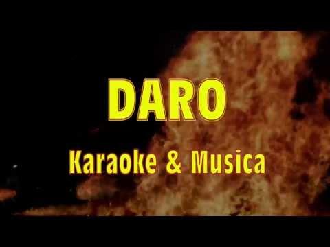 DARO karaoke sabato Valle del Drago