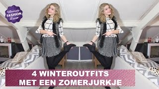 Winter Outfits met Zomerjurkje | Ultimate Fashion Challenge #3 Thumbnail