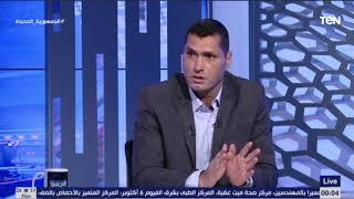 """رمضان صبحي مكنش موجود .. هل كنت خايف تغيره ؟"" ابو الدهب يوجه سؤال قوي لشوقي غريب بعد لقاء البرازيل"