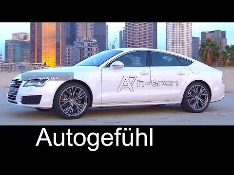 Audi A7 Sportback h-tron quattro - fuel cell Plugin-Hybrid concept - Autogefühl