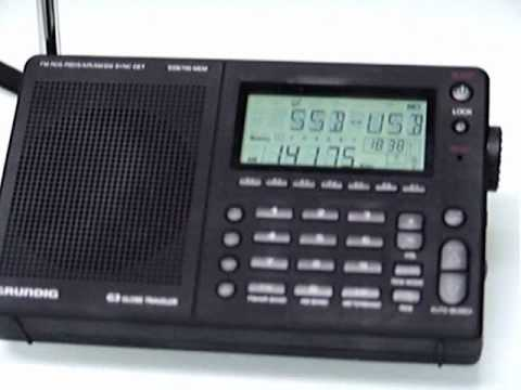LX2JJ received in Portugal, with a portable receiver GRUNDIG G3 GLOBE TRAVELER inside of my home.wmv