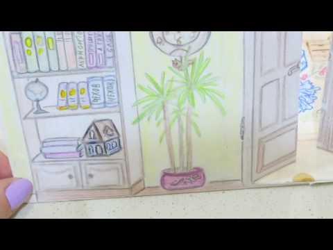 КАК СДЕЛАТЬ ДОМИК//3D//ДЛЯ БУМАЖНЫХ КУКОЛ//How To Make Dollhouse