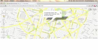 Traçando rota utilizando API Google Maps Free HD Video