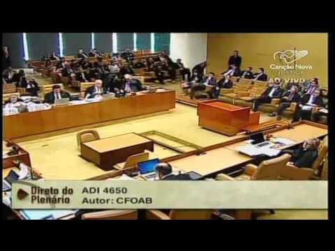 Supremo Tribunal Federal julga financiamento de campanhas
