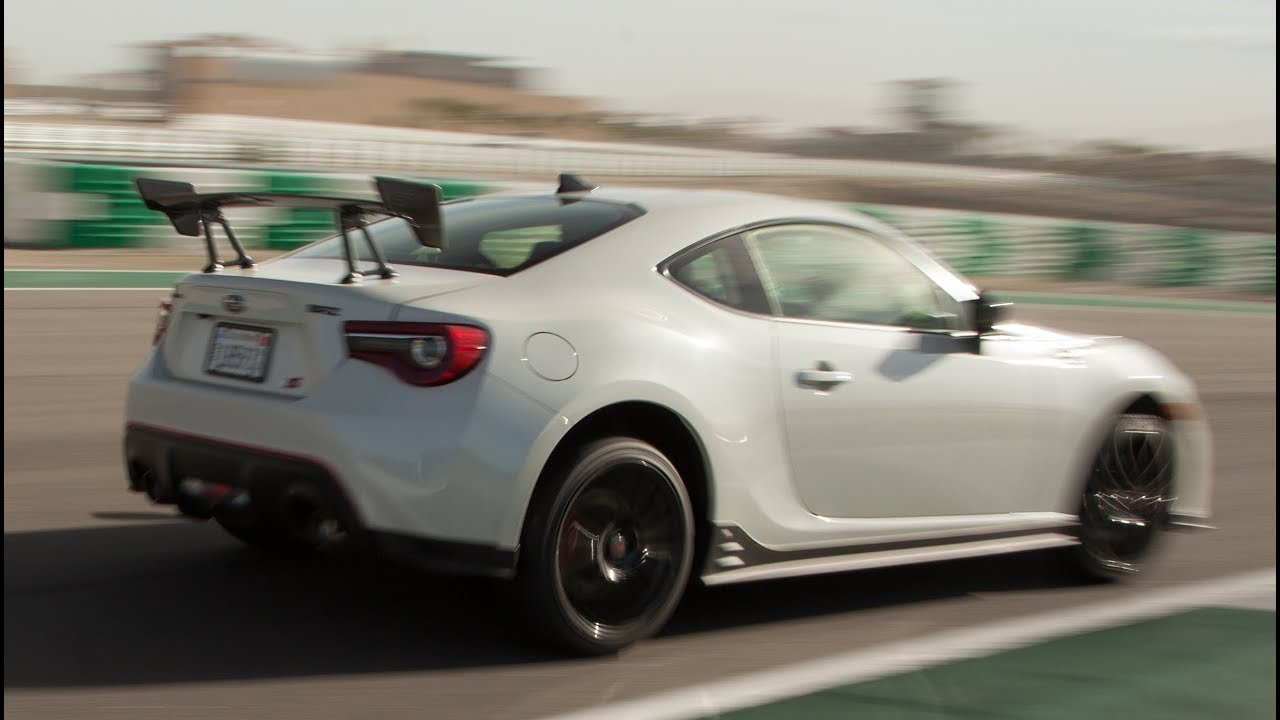 2018 Subaru Brz Ts Track One Take Youtube