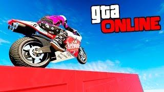 НЕПРОХОДИМАЯ ТОНКАЯ ТРОПА ЧЕРЕЗ ВЕСЬ ГОРОД - Challenge В GTA 5 ONLINE