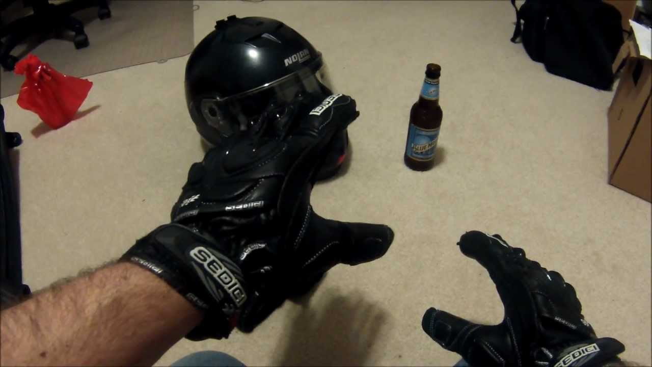 Diavolo leather motorcycle gloves - Diavolo Leather Motorcycle Gloves 26
