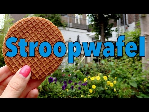 Stroopwafel Taste Test Challenge: Delicious Dutch syrup waffle in Amsterdam