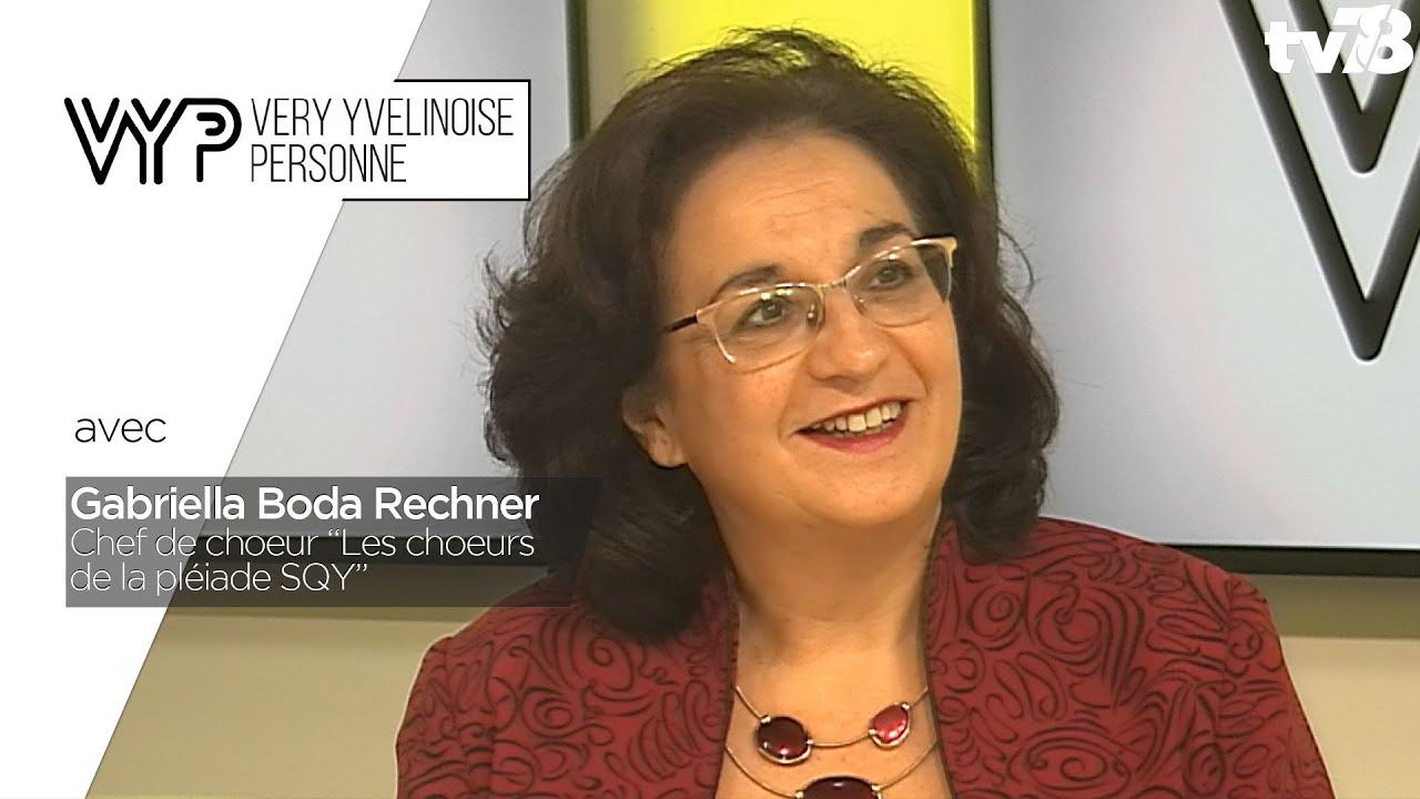 VYP. Gabriella Boda Rechner, chef de choeur
