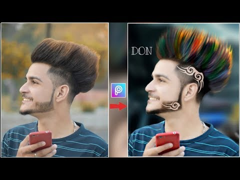 Download 2019 Hairstyle Editing In Picsart Change Coth Color Hair