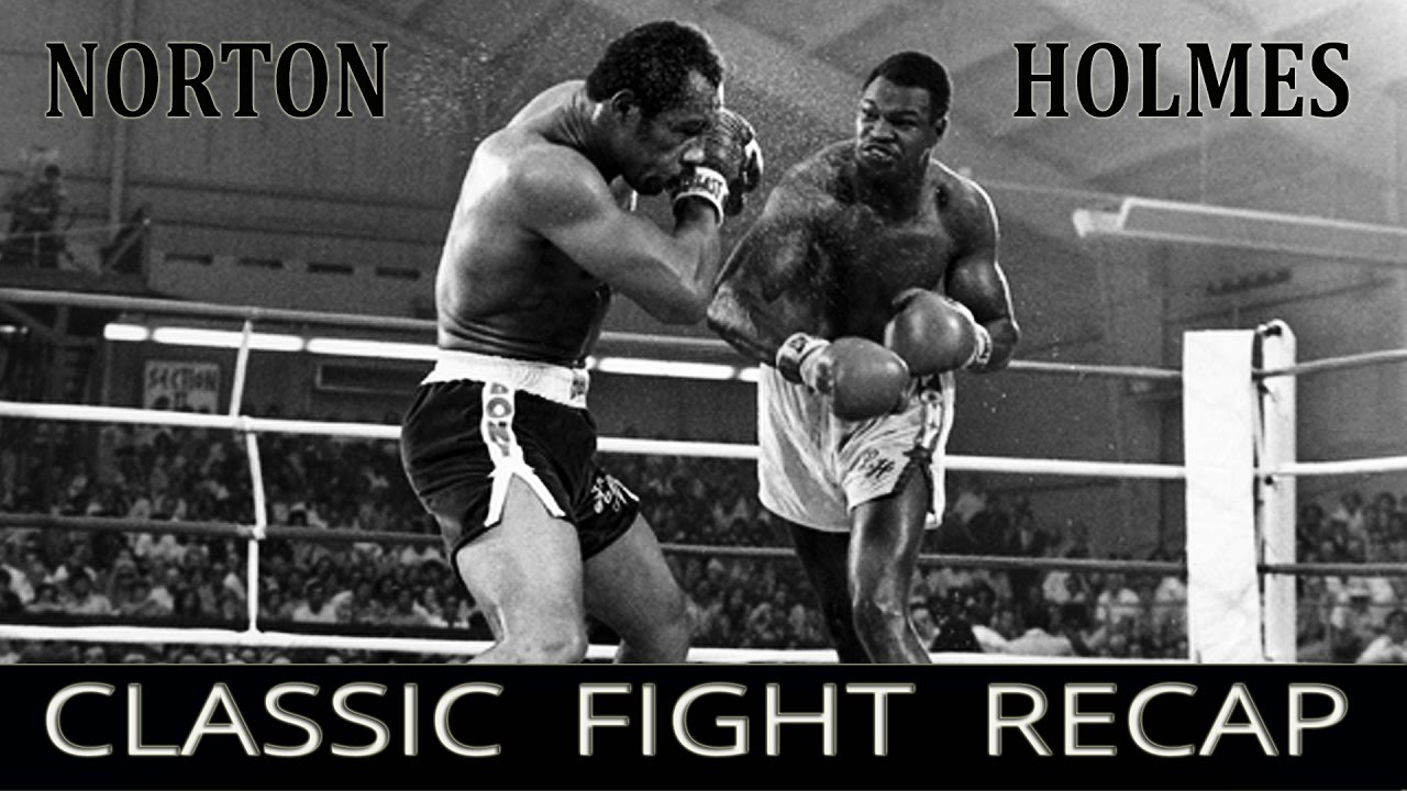 Ken Norton vs Larry Holmes - Classic Fight