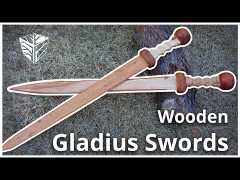 Wooden Gladius Swords