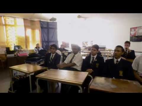 Art For Humanity Workshop at Durban High School