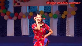 Nepali Traditional dance video // Song & Dance cover by a Girl.