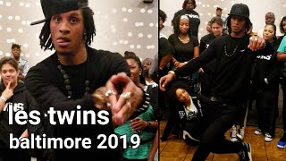 Les Twins Baltimore 2019 - Larry freestyle to 10 Freaky Girls