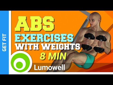 Abs Exercises With Weights