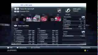 NHL 14 GM Mode Tampa Bay Lightning Ep 4 Streaking!