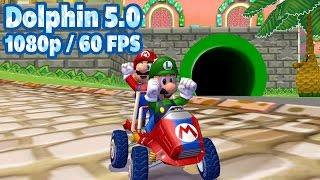 [60 FPS] Dolphin Emulator 5.0 | Mario Kart: Double Dash!! [1080p HD] | Nintendo GameCube