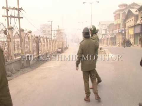 Kashmir: Protesters clash with forces in Srinagar after Friday prayers
