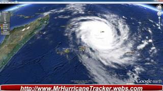 All eyes on Tropical Cyclone Giovanna Class III Warning for Mauritius