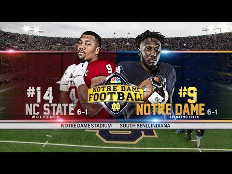 Highlights | @NDFootball vs. NC State 2017