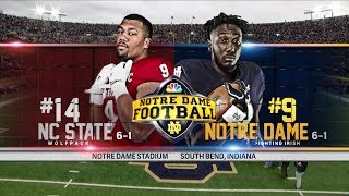 Highlights | @NDFootball vs. NC State 2017